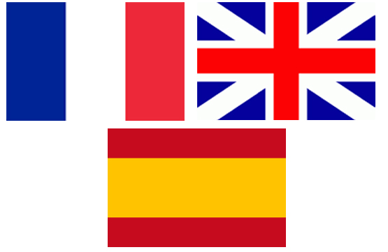 langue vertical visuel subjective de VestiVVS Français, Anglais , Espagnol