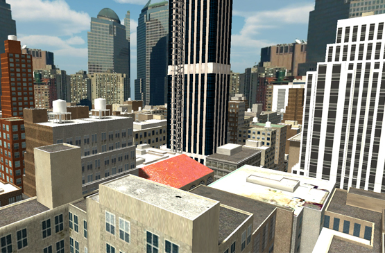 building hauteur ville