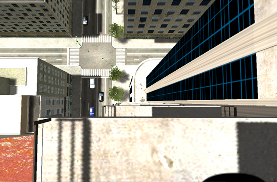 escalier vision vers le bas vertige
