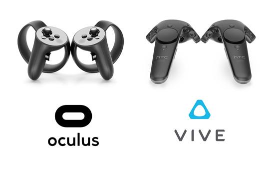 controlleurs les manettes pour les mains en réalité virtuelle et pour la rééducation